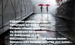 Yağmurlar Yağıyor Şehrime (Sevgiliye İyi Geceler Şiirleri )